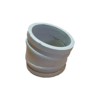 Угол (колено) бетоновода  двухслойный DN125 R...